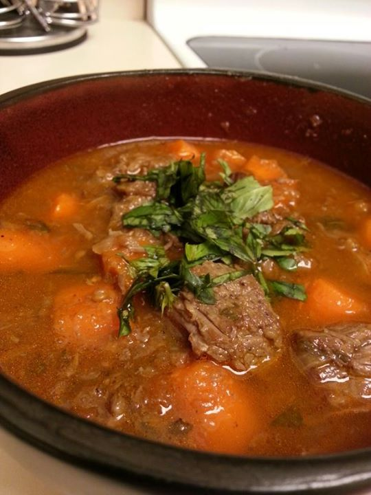 Bo Kho (Vietnamese Beef Stew)