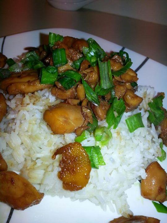 Ga Kho Gung (Vietnamese Ginger Chicken)