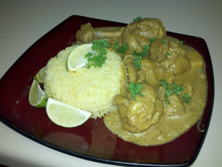 Chicken Lemongrass Curry